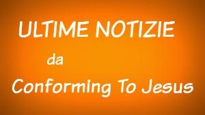 Ultime Notizie da Conforming To Jesus