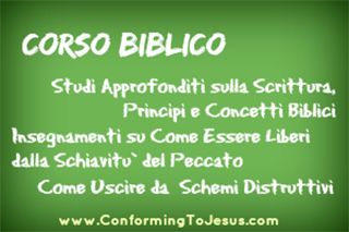 Insegnamenti Biblici - Conforming To Jesus
