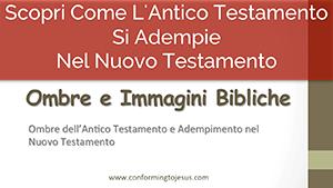 Ombre e Immagini Bibliche - Ombre dell'Antico Testamento e Adempimento nel Nuovo - Conforming To Jesus