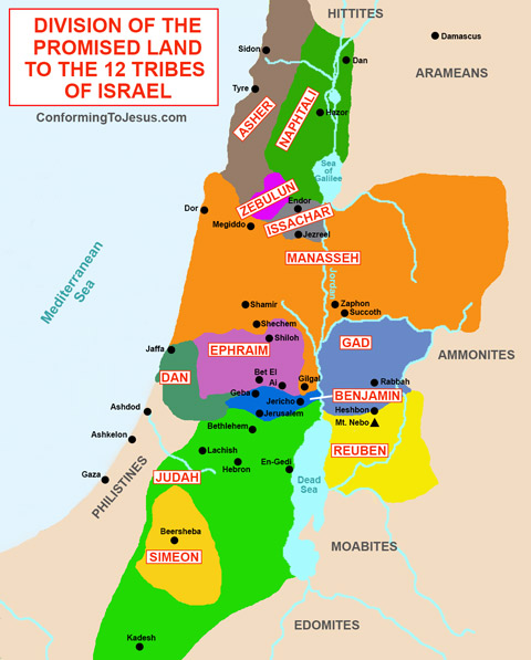Image result for the tribes of israel images