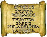 The Seven Churches of Revelation are Ephesus, Smyrna, Pergamos (a.k.a. Pergamum or Pergamon), Thyatira, Sardis, Philadelphia and Laodicea - ConformingToJesus.com