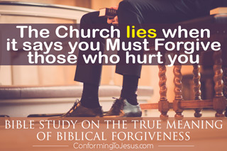 What does the Bible say about Forgiveness - Forgiveness