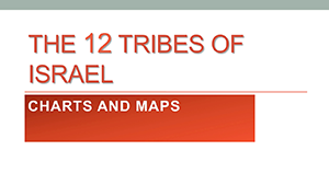 12 Tribes of Israel - History, Charts & Maps - Conforming To Jesus