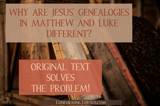 Why are Jesus' Genealogies in Gospels different? Discover Jesus' true biological family tree from the Original Text!